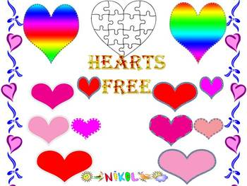 Hearts - Free Clipart Graphics