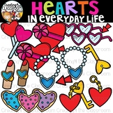 Hearts in Everyday Life Clipart {Hearts in real life Clipart}