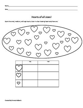Hearts of All Sizes Tally Mark Chart!