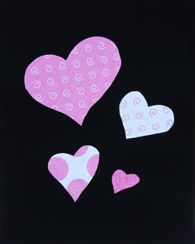 Hearts pattern for Valentine's Day