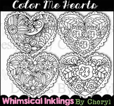 Hearts to Color