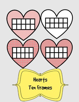 Hearts with ten frames