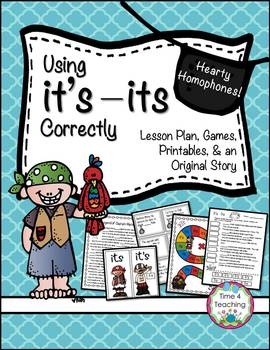 Hearty Homophones:  Using It's and Its Correctly