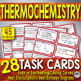 Thermochemistry ~ 28 Chemistry Task Cards~ Specific Heat/H