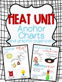 Heat Anchor Chart and Graphic Organizer Set