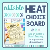 Heat Choice Board - Editable