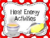 Heat Energy Investigations, Heat Labs, Heat Energy Labs, Heat Investigations