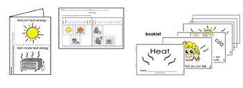 Heat Energy Activities Pack English Only Cscope Common Core