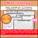Heat & Energy Articles about Heat, Temperature, Conductors, & Insulators