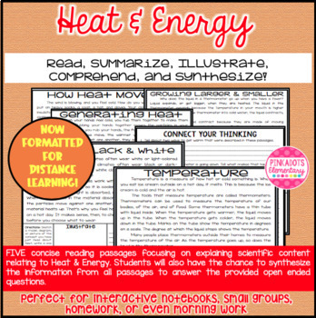 Heat & Energy Articles about Heat, Temperature, Conductors