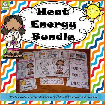 Heat Energy Bundle (Task cards Included)