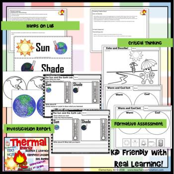 Heat Energy: Complete Lesson Set Bundle Kindergarten & First Grade (TEKS & NGSS)