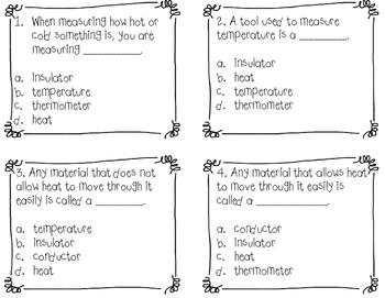 Heat Energy: Insulators, Conductors and Solar Energy