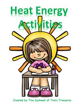 Heat Energy Interactive Notebook Activities