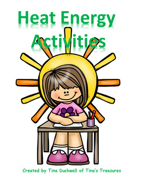 Heat Energy Interactive Notebook Activities