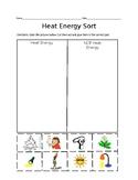 Heat Energy Object Sort