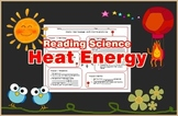 Heat Energy Reading Science