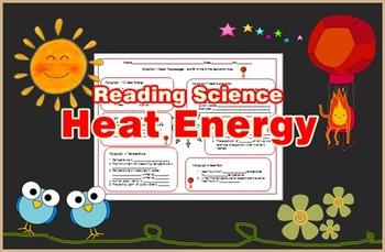 Heat Energy Reading Science