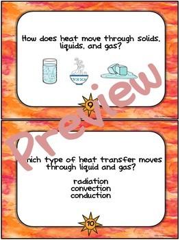 Heat Task Cards set of 28