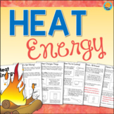 HEAT ENERGY Thermal Energy Interactive Science Activity Book