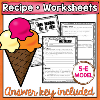 Ice Cream In A Bag Science Teaching Resources | Teachers Pay Teachers