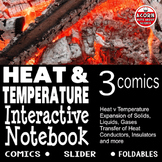 Heat and Temperature Interactive Notebook