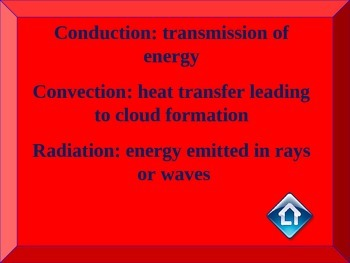 Heat, Light, Sound, Energy Quiz Show