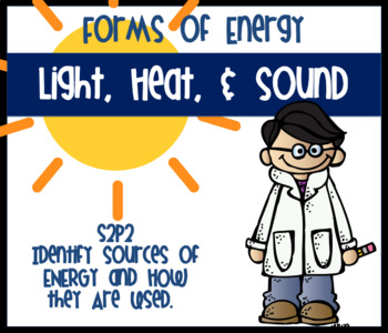 Heat Light and Sound Energy S2P2 Science Unit