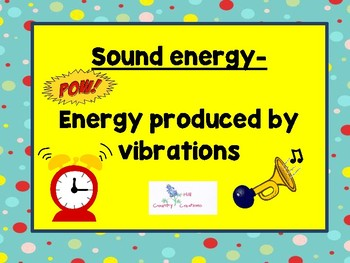 Heat, Light, and Sound.....Waves of Energy