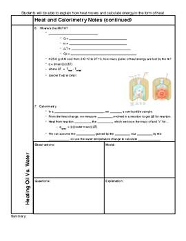 Heat Notes HS-PS3-2
