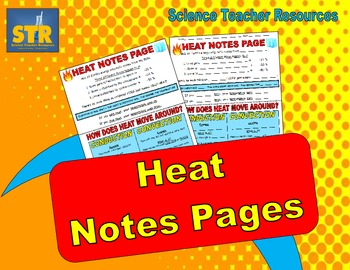 Heat Notes Pages