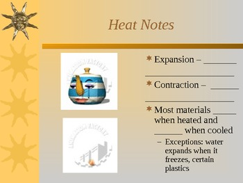 Heat Notes - Powerpoint skeletal and complete