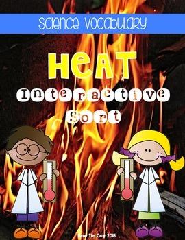 Heat {Science Interactive Vocabulary Sort}