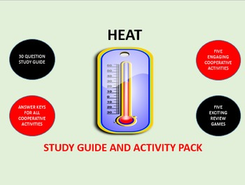 Heat: Study Guide and Activity Pack