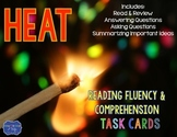 Heat Task Cards for Fluency and Comprehension