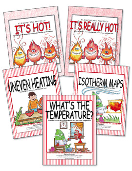 Heat, Temperature, Thermometers, Isotherm Maps  ♥ BUNDLE ♥