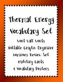 Heat / Thermal EnergyVocabulary Bundle