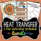 Heat Transfer Activities Bundle - Conduction, Convection, Radiation