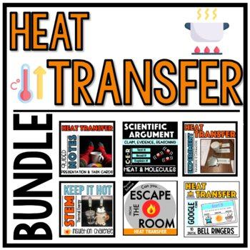 Heat Transfer Bundle - NGSS Aligned!