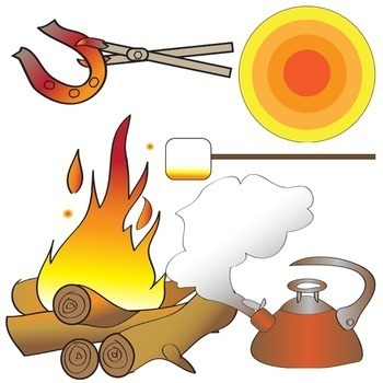 heat transfer clip art set physical science clipart by the painted rh teacherspayteachers com