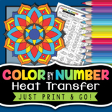 Heat Transfer Color by Number - Science Color By Number