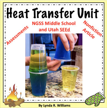 Heat Transfer Complete Science Unit MS-PS3-3, MS-PS1-4 and MS-PS3-4