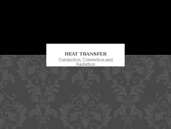 Heat Transfer Conduction Convection Radiation