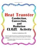 Heat Transfer (Conduction, Convection, Radiation) CLOZE