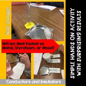 Heat Transfer Experiment:  Thermal Conduction and Insulation