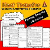 Heat Transfer Fiction Stories - Conduction, Convection, & Radiation