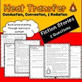 Heat Transfer Fiction Stories - Conduction, Convection, &