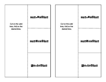 Heat Transfer Foldable for Interactive Science Notebooks