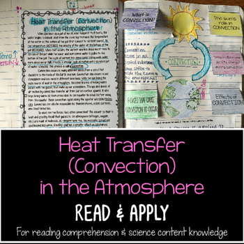 Heat Transfer In the Atmosphere Reading Comprehension Inte