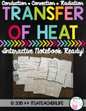Heat Transfer Interactive Notebook (Conduction, Convection, Radiation)